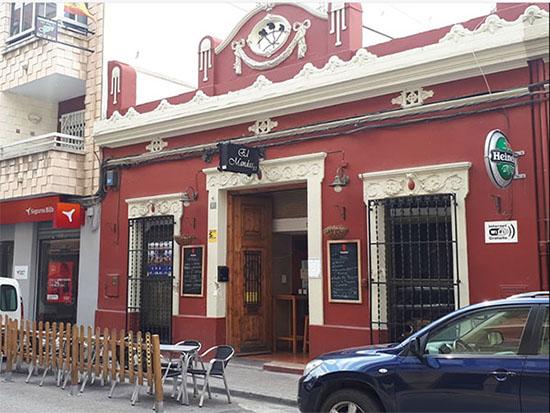fachada restaurante en Burjasot el Mandas